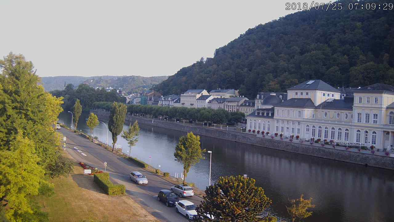 Die Lahn in Bad Ems